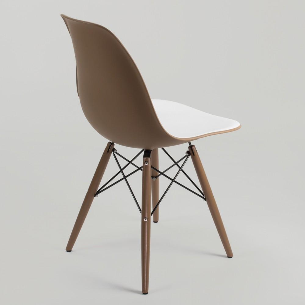 Silla eames dsw bicolor muebles modernos - Silla charles eames ...