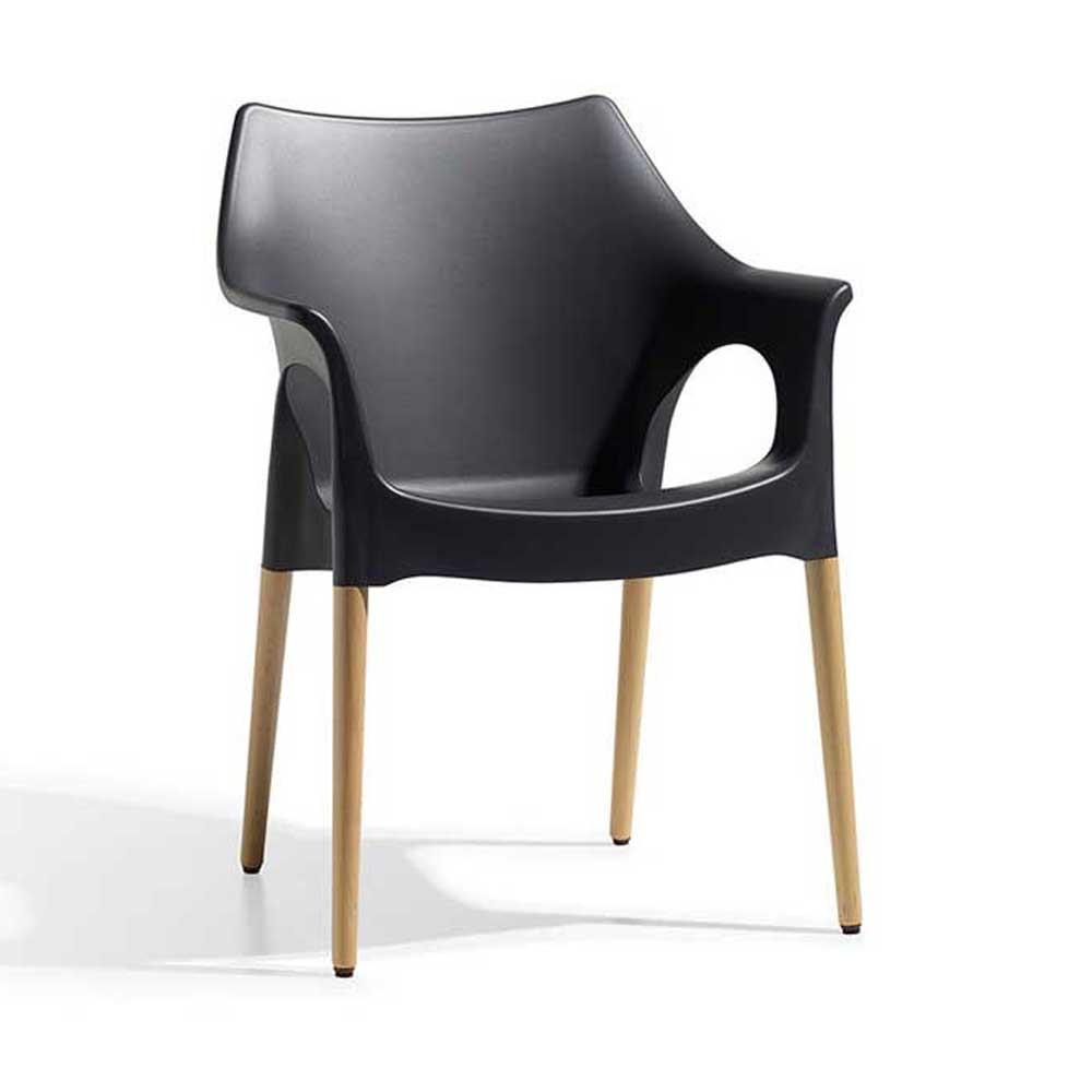 Silla ola natural muebles modernos for Muebles modernos sillas